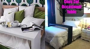 Lit Chez Ikea : fabriquer une console de lit comme celle de chez ikea ~ Teatrodelosmanantiales.com Idées de Décoration