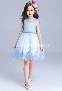 jolie robe bleu pastel pour fille au mariage With jolie robe pour mariage