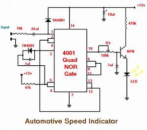 Automotive Speed Indicator