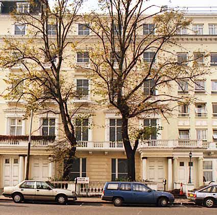 Leinster Gardens by Facade And Dummy Houses At 23 24 Leinster Gardens