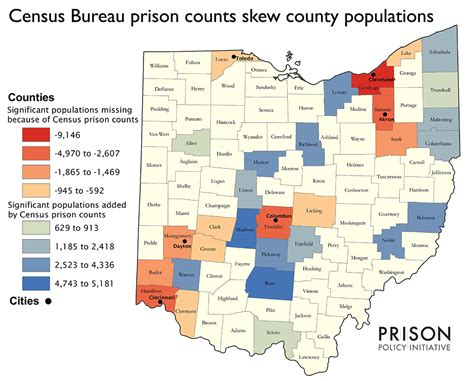 census bureau statistics census bureau prison counts skew county populations