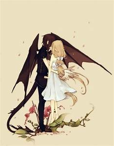 Angel and Demon | Anime | Pinterest | Demons, Angels and ...
