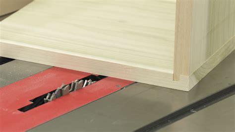 table  dado cuts create lock joints wwgoa