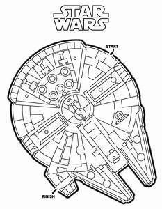 Faucon Millenium Star Wars : labyrinthes imprimer labyrinthe du faucon millenium de star wars star wars pinterest ~ Melissatoandfro.com Idées de Décoration