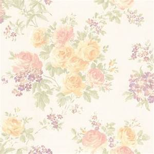 989-64842 Pastel Floral Trail - Ivana - Mirage Wallpaper