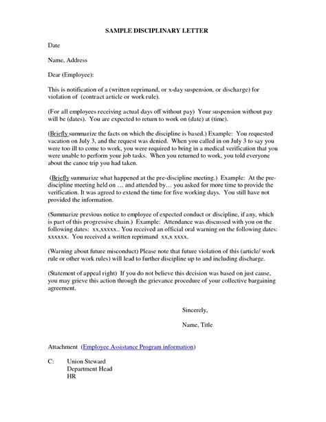 Disciplinary Letter Example  Letters  Free Sample Letters. Real Estate Newsletter Template. Sample Mileage Reimbursement Form Template. Resume Template For Cna Template. Skills Administrative Assistant Resume Template. Blank Santa Letter Template. Sample Online Cover Letter Template. Job Description For Computer Programmer Template. Microsoft Word Christmas Card Template