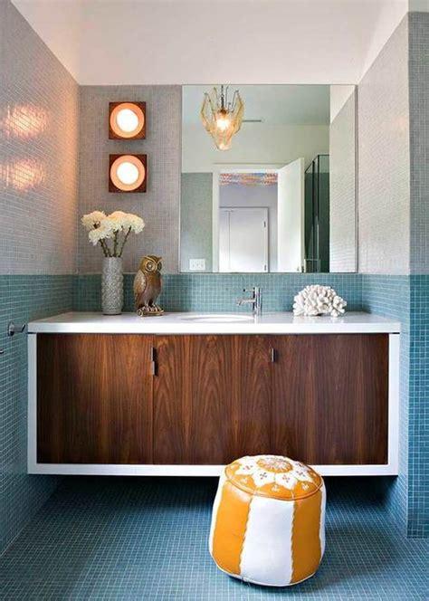 midcentury modern bathroom tile ideas hunker