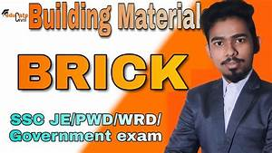 Building Materials Lecture On Brick