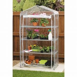 Serre En Polycarbonate Ou En Verre : mini serre de jardin en pvc x x cm ~ Premium-room.com Idées de Décoration