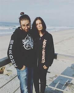 metalhead couple on Tumblr