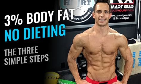 percent body fat  dieting   simple steps youtube