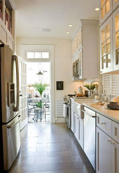 Galley Kitchen Ideas by 47 Best Galley Kitchen Designs Decoholic