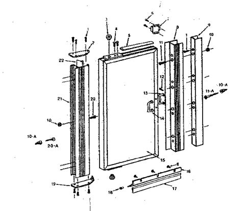 sliding glass door repair parts sliding glass door frame