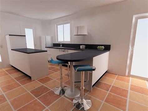 mod鑞e de plan de travail pour cuisine table plan de travail arrondi maison design bahbe com