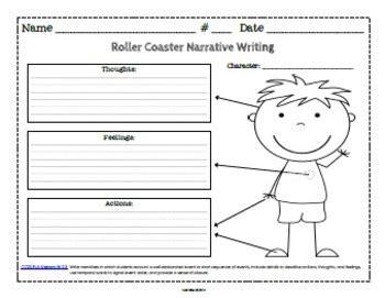 common core graphic organizers  narrative writing