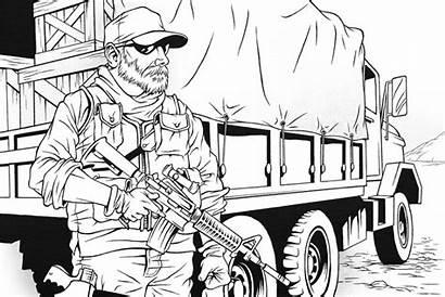Mercenary Private Miami Mercenaries Security Soldier Hamed
