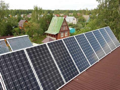 Срок окупаемости солнечной электростанции. выгодно или нет? . альтэко
