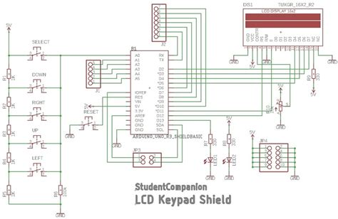 lcd keypad shield studentcompanion