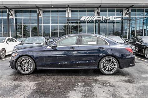 Demonstrate your personality directly on the asphalt. New 2020 Mercedes-Benz C43 AMG 4MATIC Sedan 4-Door Sedan ...