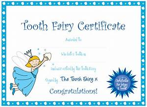7 best images of printable tooth fairy cards free tooth With free printable tooth fairy certificate template