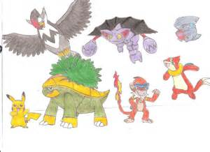 Pokemon Ash Sinnoh Team
