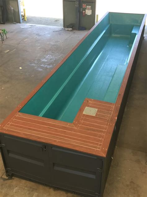 Pool Aus Container Bauen by Shipping Container Pools