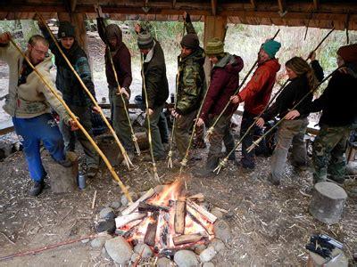 primitive fishing techniques