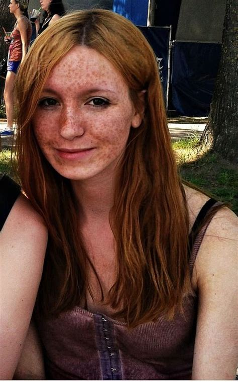 love lots  freckles amazing redheads pinterest