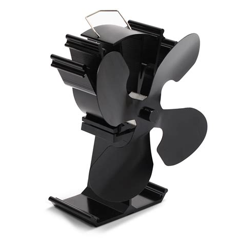 fan for wood stove top kenley heat powered stove top eco fan for wood log coal