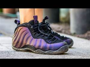 2010 Nike Air Foamposite One Eggplant On Feet Sneaker ...
