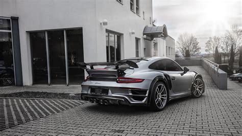 Techart Porsche 911 Turbo Gt Street R 2017 2 Wallpaper