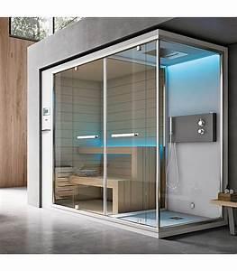 Sauna Hammam Prix : douche baln o multifonction hammam sauna black moon 2 luxe ~ Premium-room.com Idées de Décoration