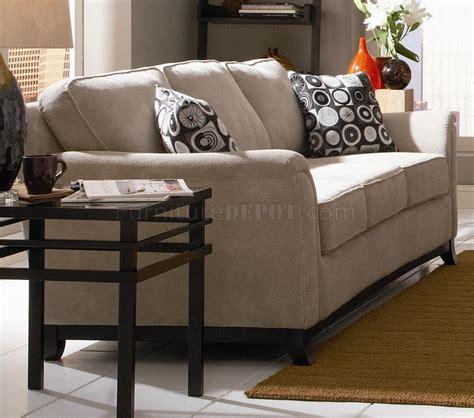 beige chenille fabric modern living room sofa woptions