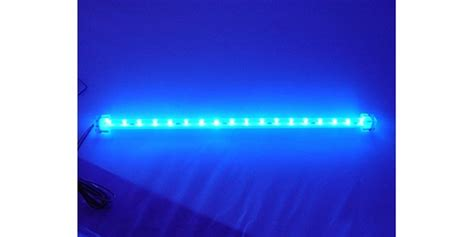 logisys ml12bl sunlight bar 12 quot 4 pin led light stick blue