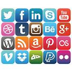 Social Icons Update Rounded Business Popular Extend