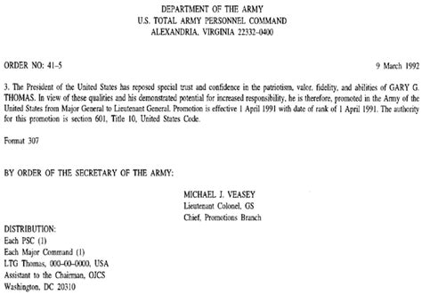 9 best images of army promotion board memo sample letter
