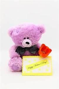Happy Mothers Day Card - Teddy Bear Stock Photo Stock ...