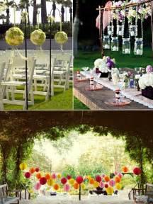 rustic wedding program fans wedding ideas 15 intelligent ideas for an outdoor garden