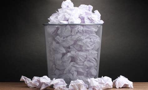 recyclage papier bureau réduire l 39 impact de la consommation de papier des entreprises