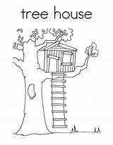 Tree Coloring Treehouse Magic Clipart Drawing Pages Houses Colouring Treehouses Template Colorluna Luna Templates Drawings Sketch Books Colors Sheets Adult sketch template