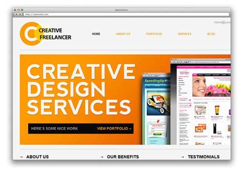 portfolio template free 25 free html portfolio website templates web graphic design bashooka