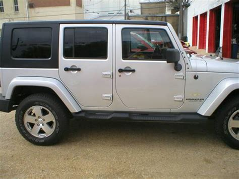 jeep wrangler 4 door silver hardtop for 2008 jeep wrangler unlimited 4 door floors