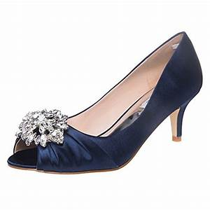 elegantpark ep2009aw women wedges heel leaf clips peep toe With what shoes to wear with navy dress for wedding