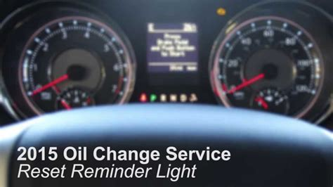 reset oil change light how to change oil filter on 2015 jeep wrangler autos post