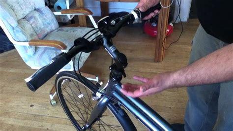 Adjusting The Montague Octagon Adjustable Handlebar Riser