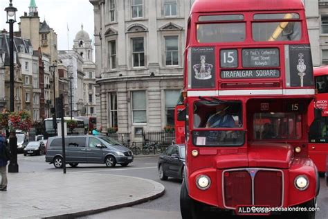 visiter londres en bus pour le prix dun ticket journalier