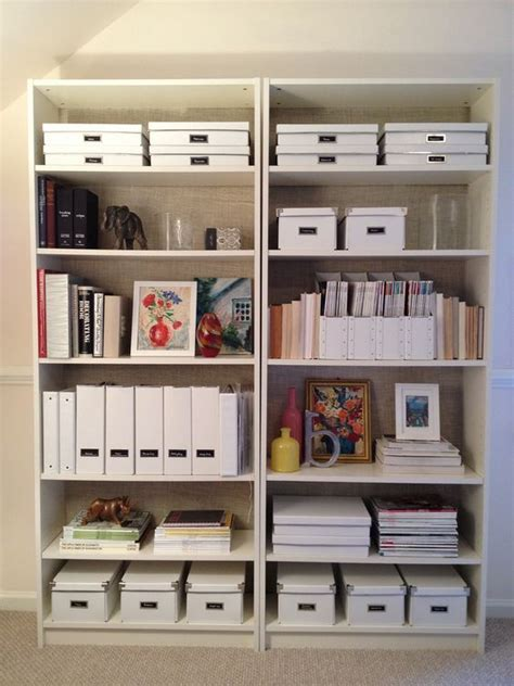 Ikea Box Bookcase by Bookcases Burlap And Bookshelves On
