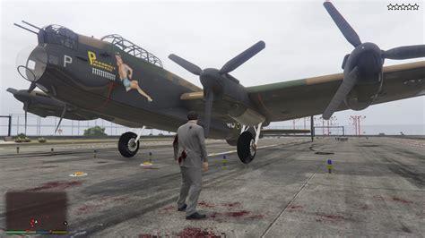 Ww2 Bomber Plane Avro Lancaster Mk.iii