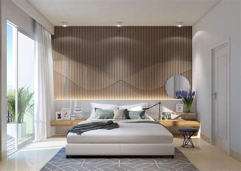 miroir plafond chambre clairage indirect luminaire led deco chambre