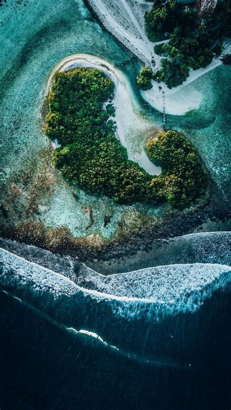 overhead photograph amazing nature drone aerial